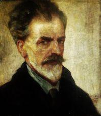 Takto se na autoportrétu zachytil malíř Jean Delville.