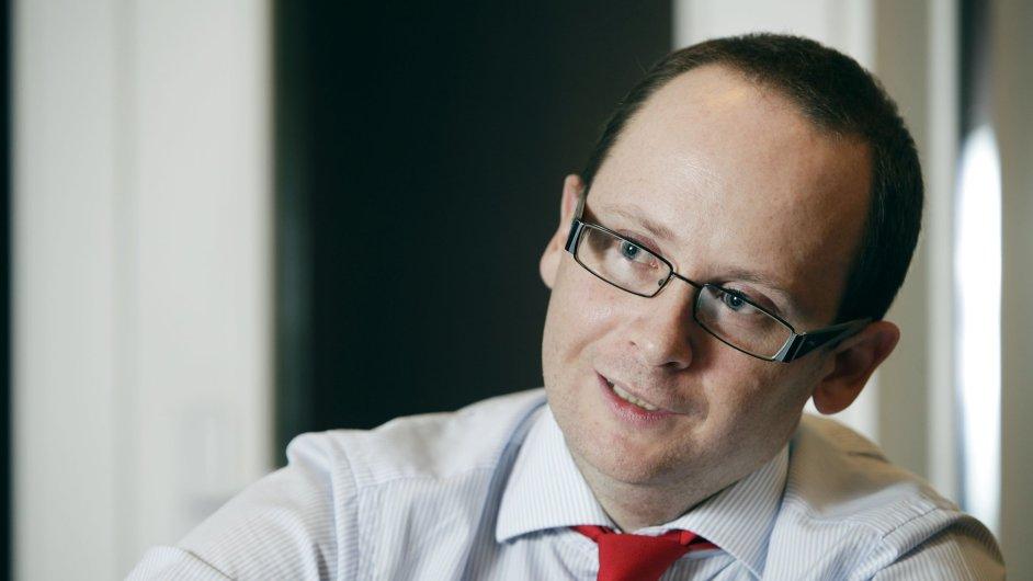 Generální ředitel státní pojišťovny exportních rizik EGAP Jan Procházka