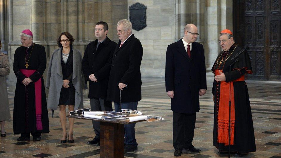 Klíčníci podpořili myšlenku na nové varhany v Katedrále sv. Víta.