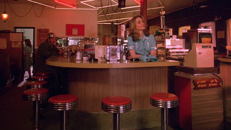 Interiér původní jídelny Double R Dineru se příští rok natočí na stejném místě.