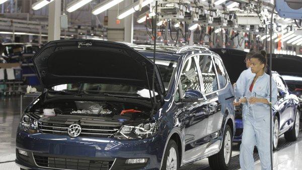 Průmyslová výroba v Německu nečekaně klesla - Ilustrační foto.