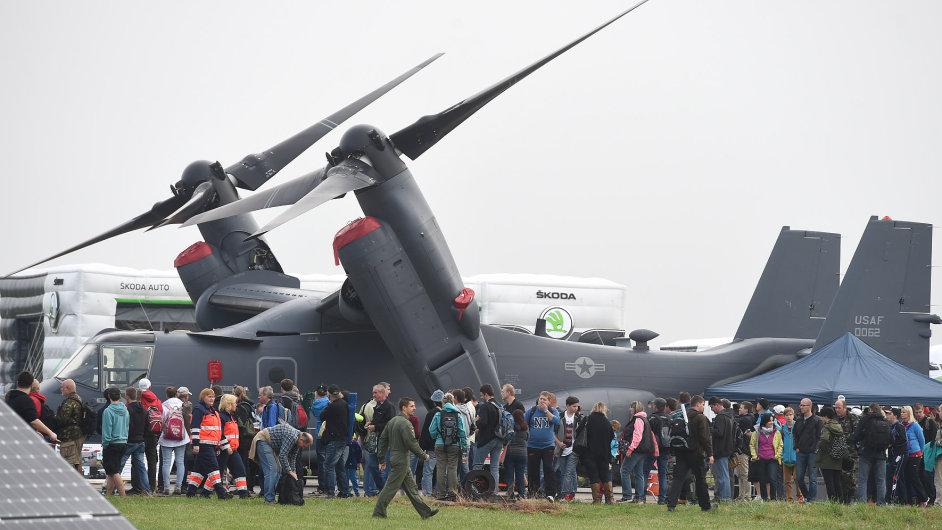 V Mošnově na Novojičínsku se konal patnáctý ročník Dnů NATO a Dnů Vzdušných sil Armády České republiky.
