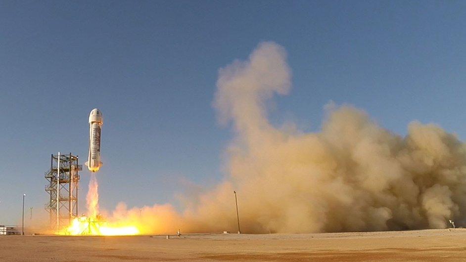 Společnost Blue Origin úspěšně otestovala svou raketu.