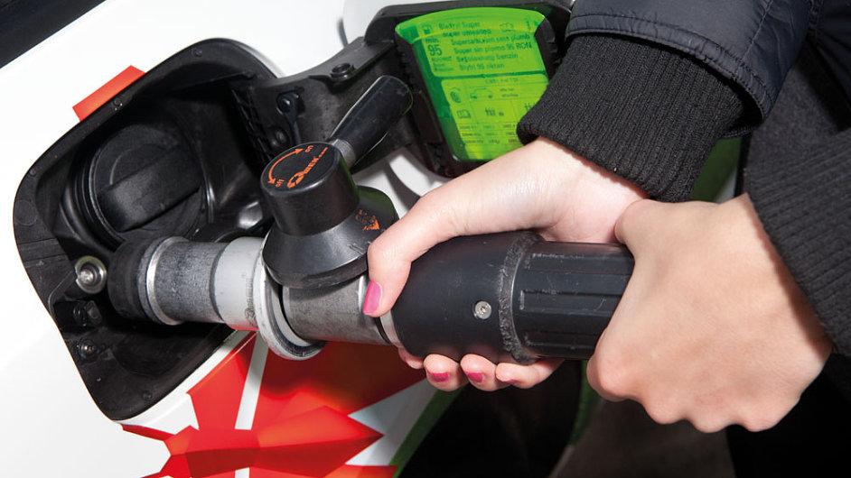 Tankování zemního plynu (CNG)