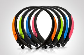 Bez drátů na krk: Otestovali jsme Bluetooth sluchátka LG pro manažery a sportovce