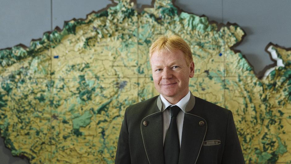 Daniel Szórád, Lesy ČR