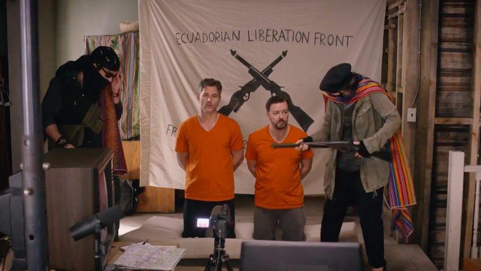 Film Special Correspondents natočil Ricky Gervais pro internetovou platformu Netflix, kde bude mít premiéru 29. dubna.