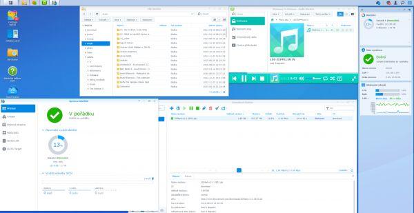 Síťový disk Synology DS216+ má pokročilé multimediální funkce i nástroje na práci