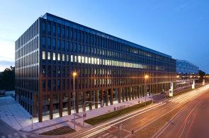 Kancelářský komplex River Garden v Karlíně od developera HB Reavis.