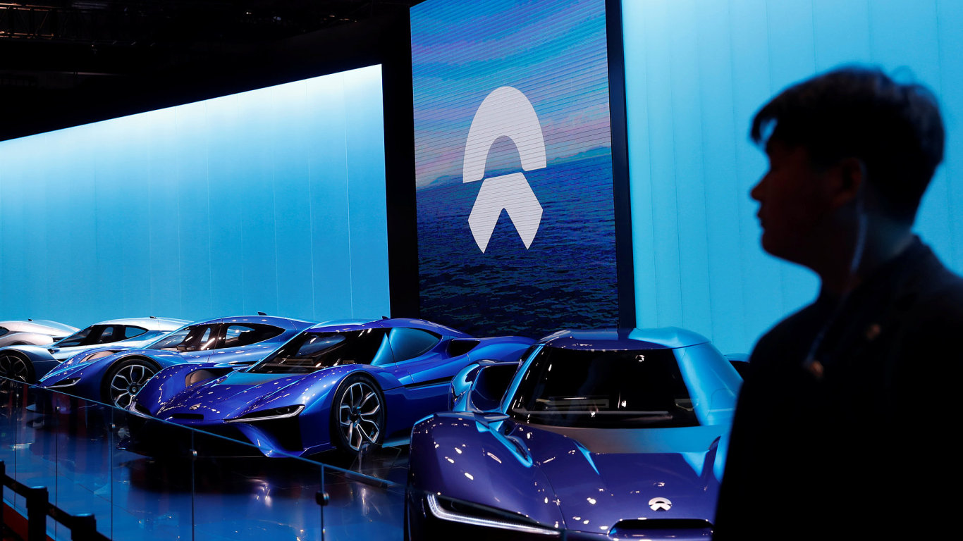 Čínsko-americká automobilka Nio se specializuje na elektromobily. Ty představila i na autosalonu v Šanghaji.