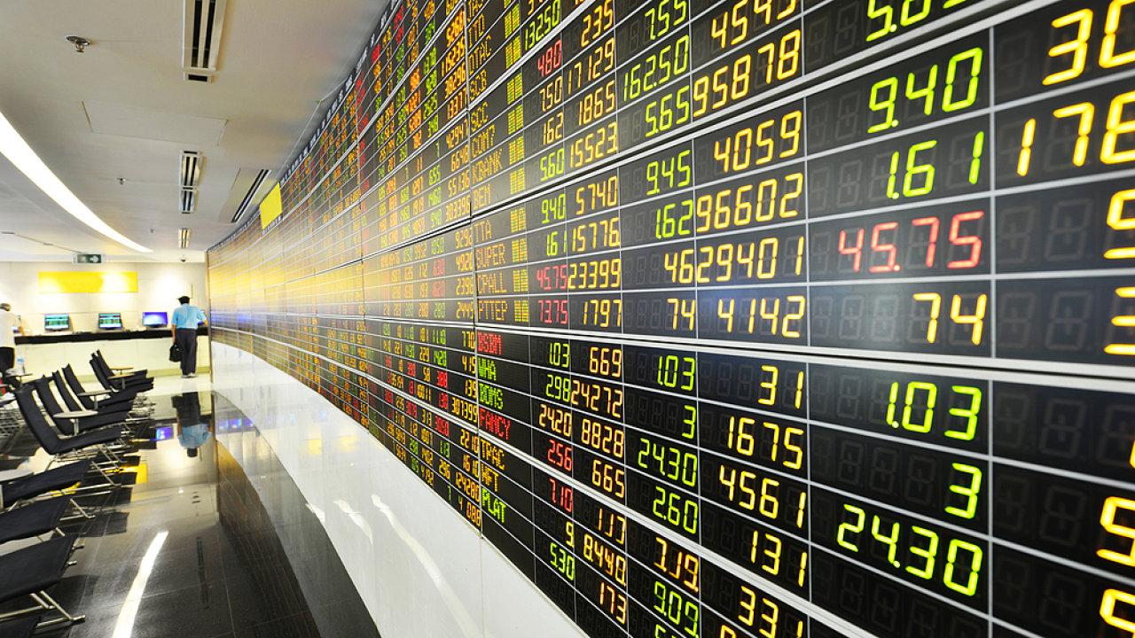 Burzy, trhy, ekonomický růst, burza cenných papírů v Thajsku - Ilustrační foto