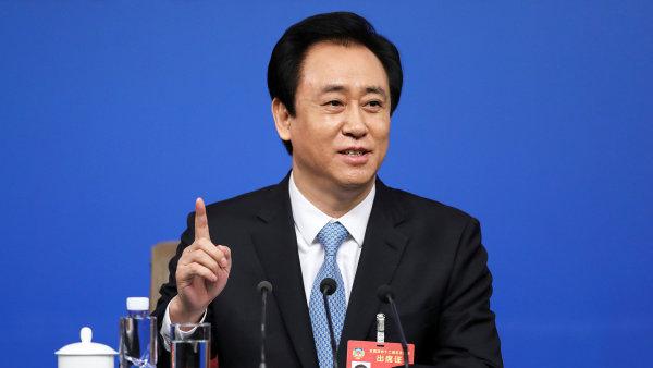 Nejbohatším Číňanem je šéf developerské firmy Evergrande