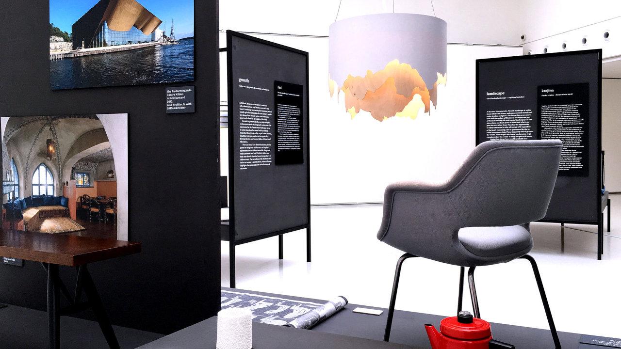 Výstava finského designu Echoes v pražském Mánesu