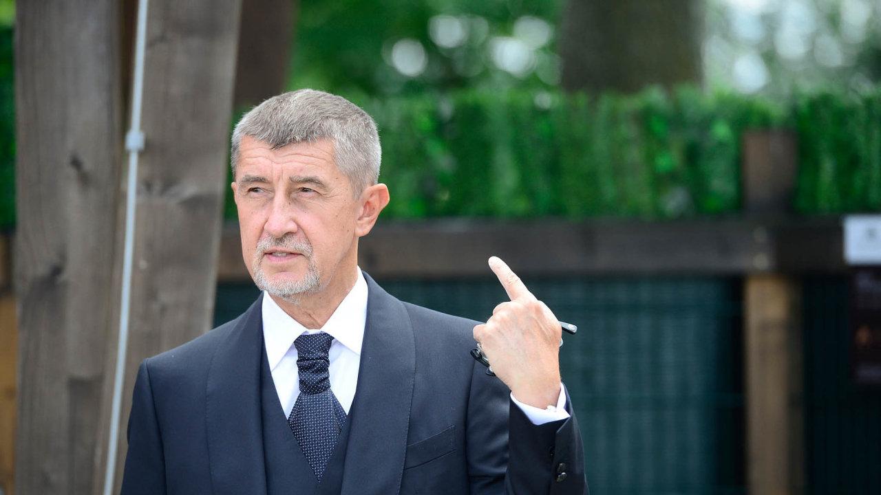 Šéf hnutí ANO Andrej Babiš v pozici premiéra zamíří do Bruselu.