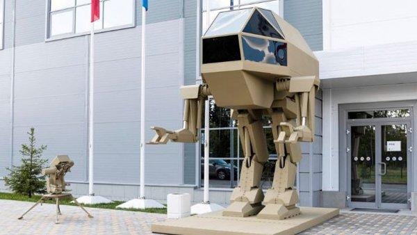Kalašnikov představil nového robota. Rusové z něj mají legraci.