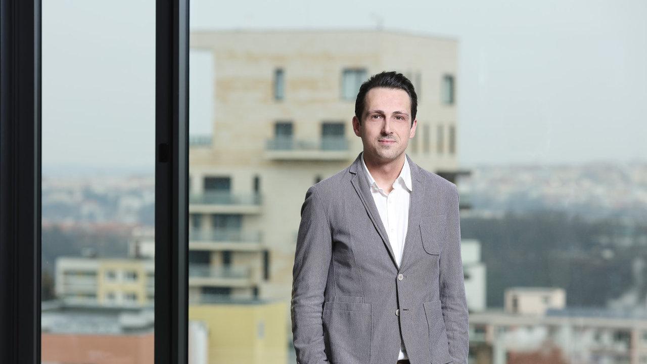 Finanční ředitel české pobočky Microsoftu Martin Štefík