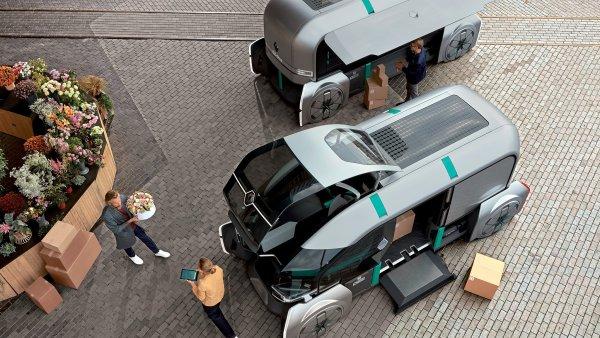 Renault představil vizi městské dodávky.