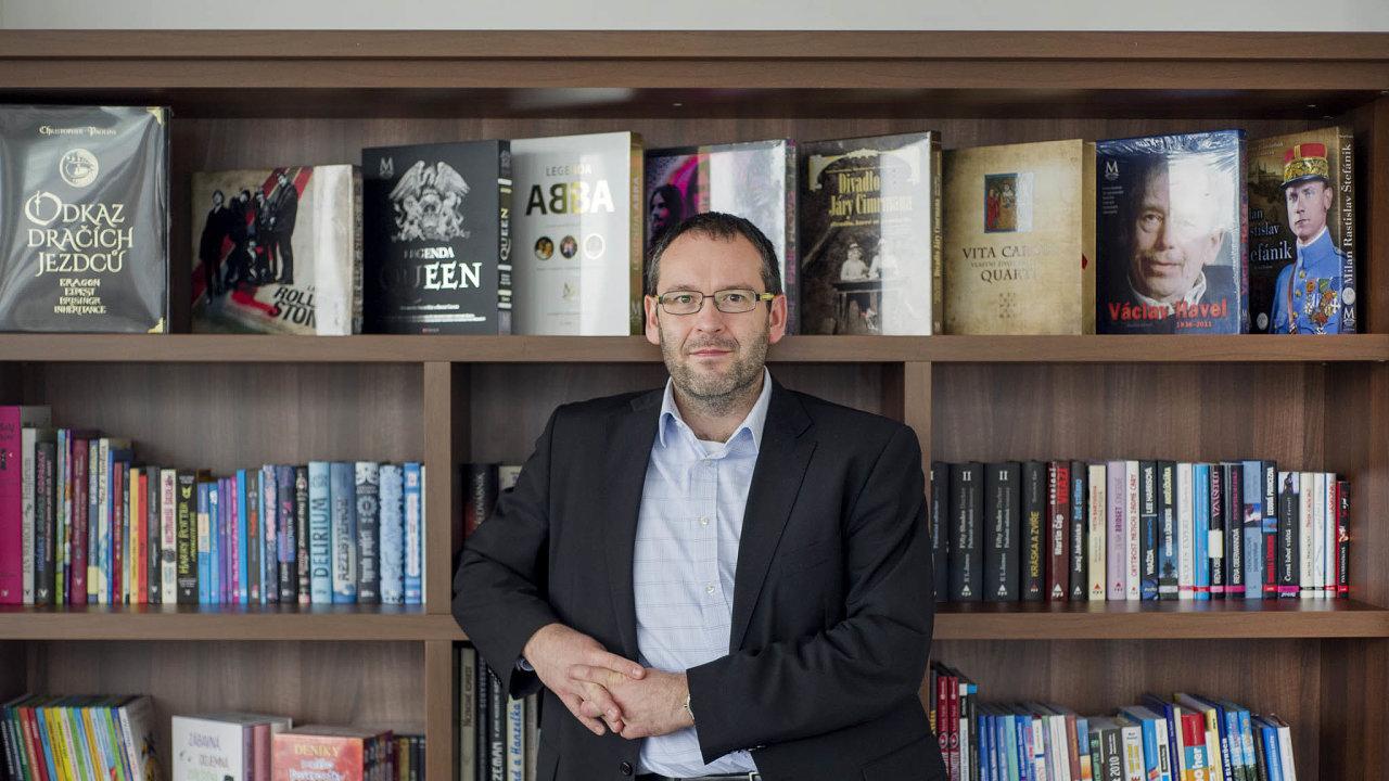 Nejnovější nákup má podle generálního ředitele Albatros Media Václava Kadlece pomoci zvýšit celkové roční příjmy skupiny najednu miliardu korun.