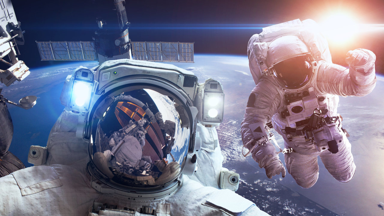 vesmír, ISS, astronaut