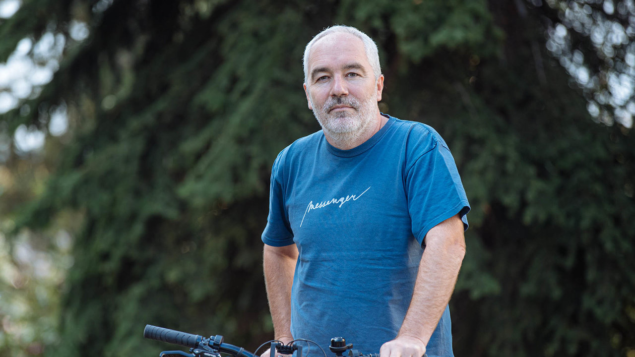 Ředitel firmy Messenger Radek Schierreich