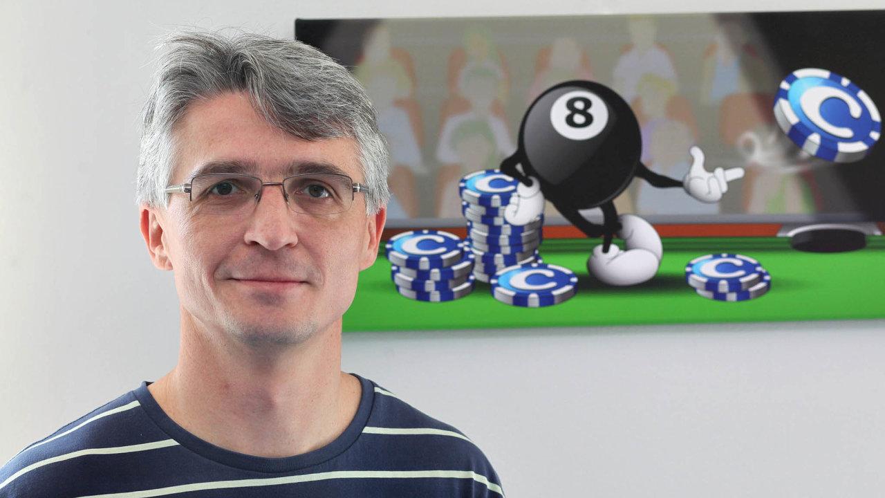 Miloš Endrle - spoluzakladatel, předseda představenstva agenerální ředitel společnosti Geewa