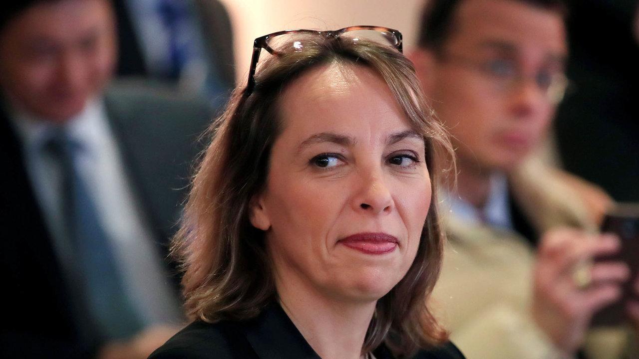 Clotilde Delbosová nahradila Thierryho Bollorého, který nejvyšší výkonnou funkci zastával teprve odletošního ledna.