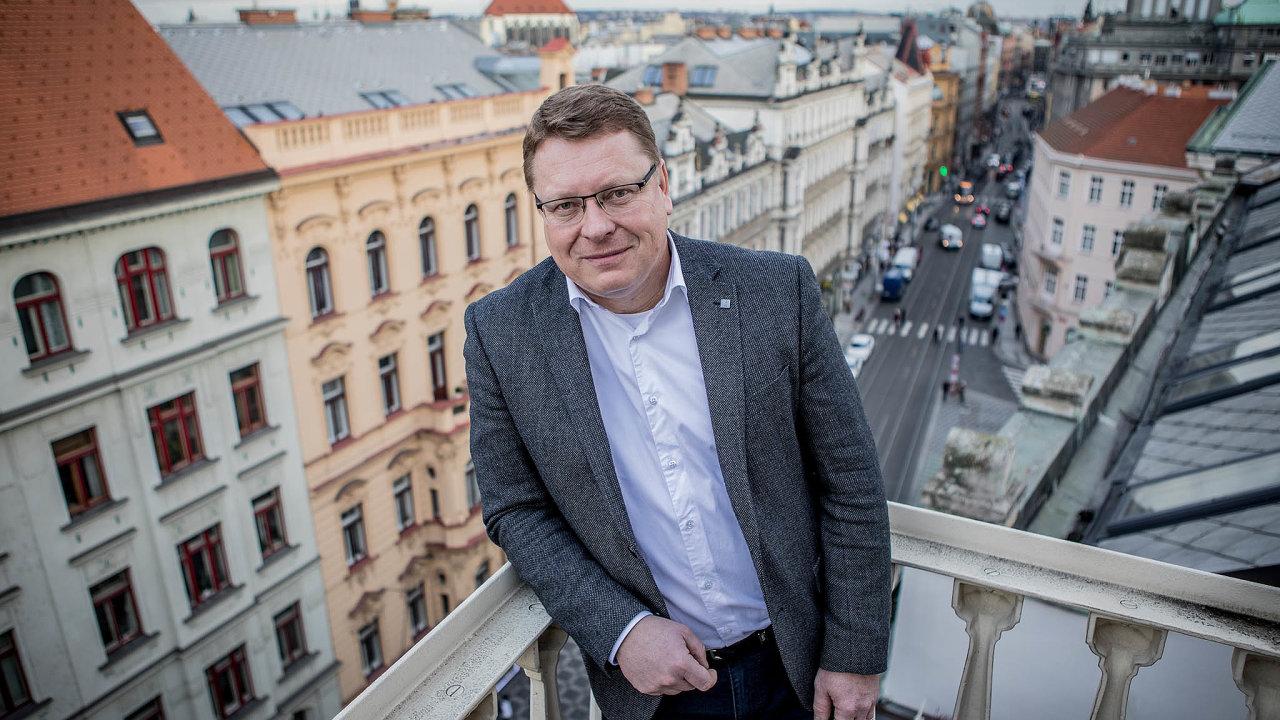 Petr Hejma je pravděpodobným příštím starostou Prahy 1 po Pavlu Čižinském.
