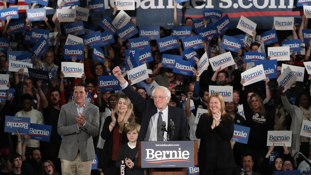 Bernie Sanders volby prezident USA