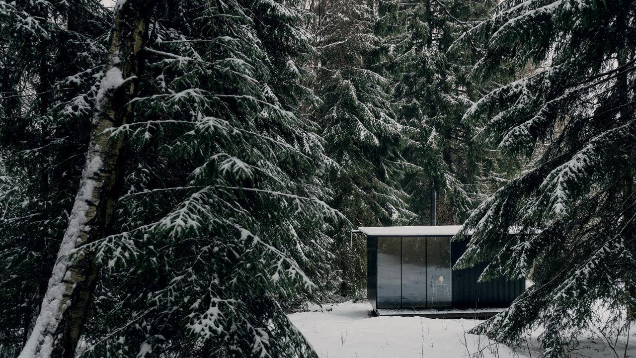 Dřevěný domek Tiny House Done