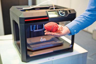 Vytvoření modelu orgánuje na3D tiskárně poměrně jednoduché. Naplně funkční srdce, ledvinu či plíce si ale budeme muset ještě pár let počkat.