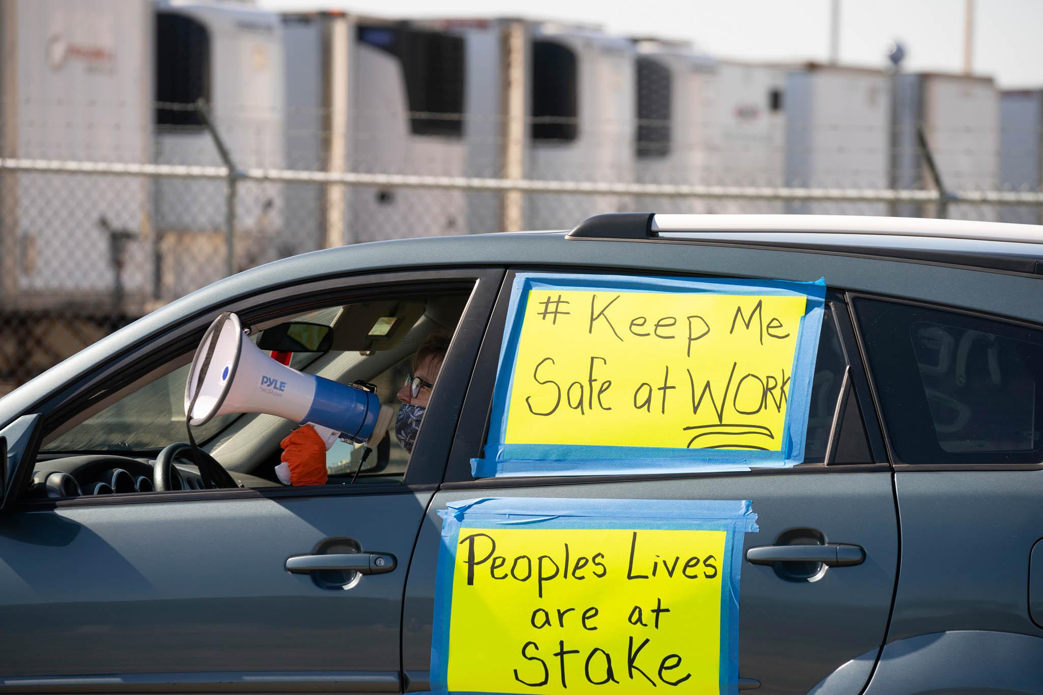 Podobné protesty byly k vidění i ve státu Minnesota.