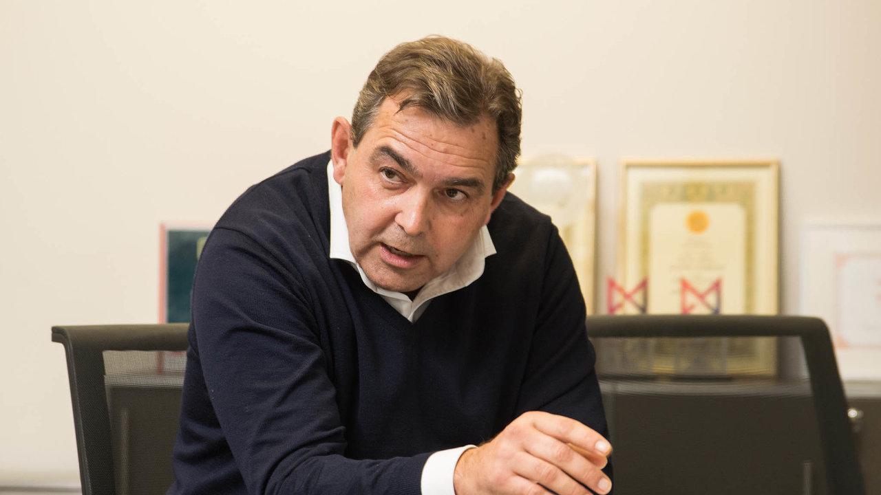 Generální ředitel Monety Tomáš Spurný.