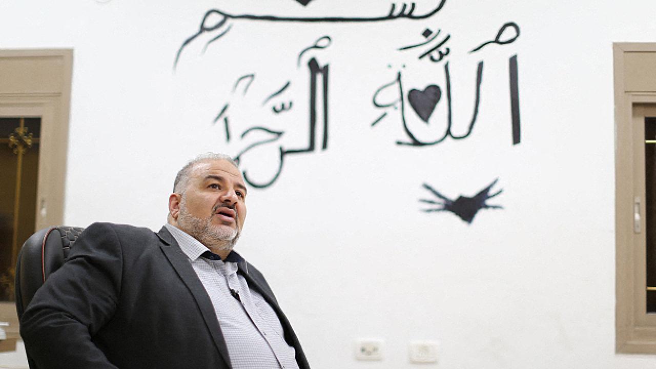 Mansúr Abbás je předsedou izraelské strany Ra'am a mluví o sobě jako o novém lídrovi Arabů v zemi.