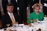 Premiér Jan Fischer na slavnostním obědě