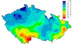 Počasí v ČR 21. prosince