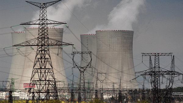 Jaderná elektrárna Temelín.