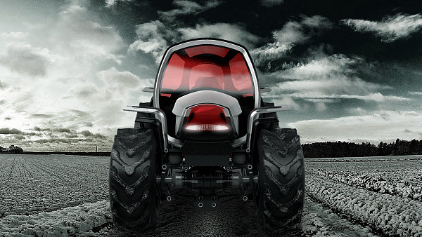 Oceněný design traktoru.
