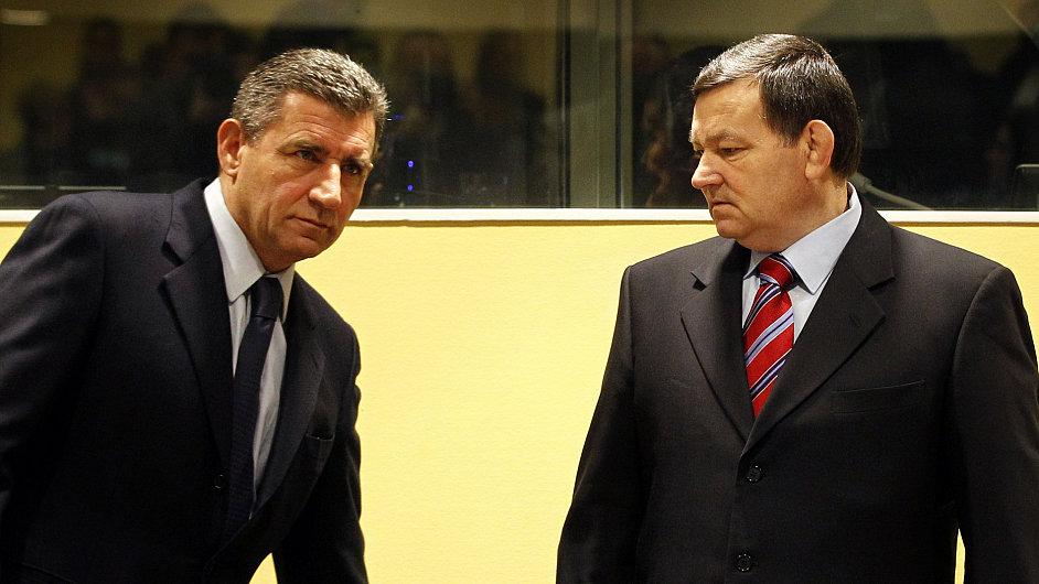 Mezinárodní trestní tribuná osvobodil generály Ante Gotovinu a Mladena Markače