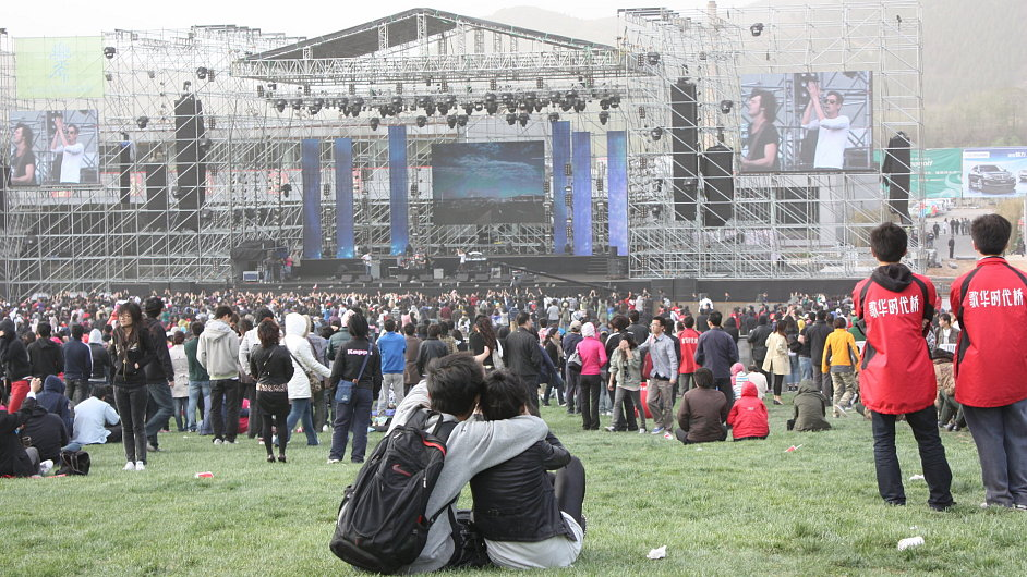 V Čínském hudebním údolí už zpívala například Avril Lavigne.