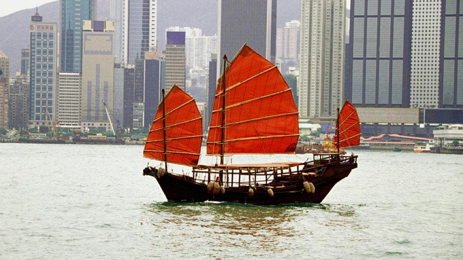 Hongkong: Přístav, který má 7 milionů obyvatel.