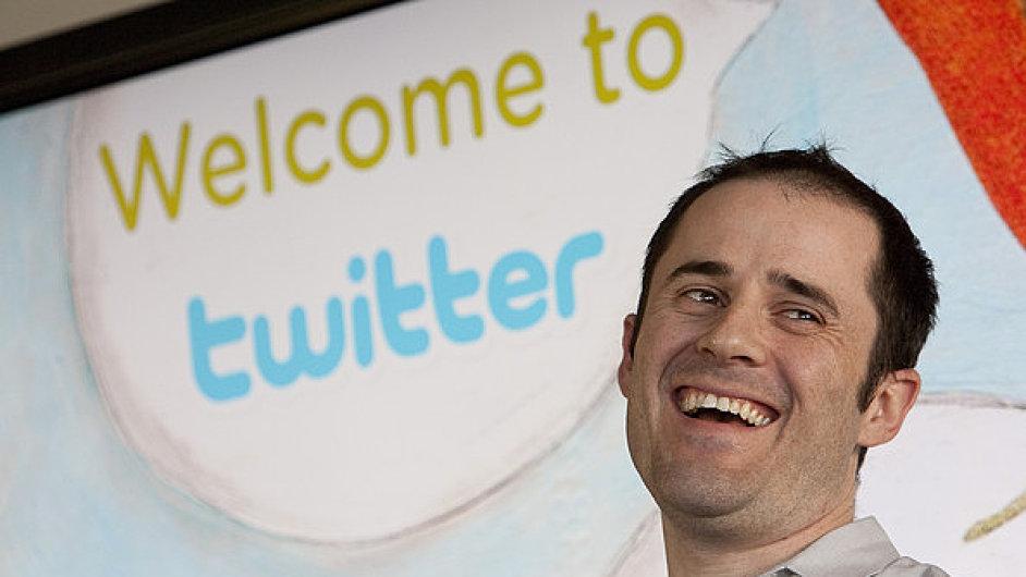 Zakladatel Twitteru Evan Williams