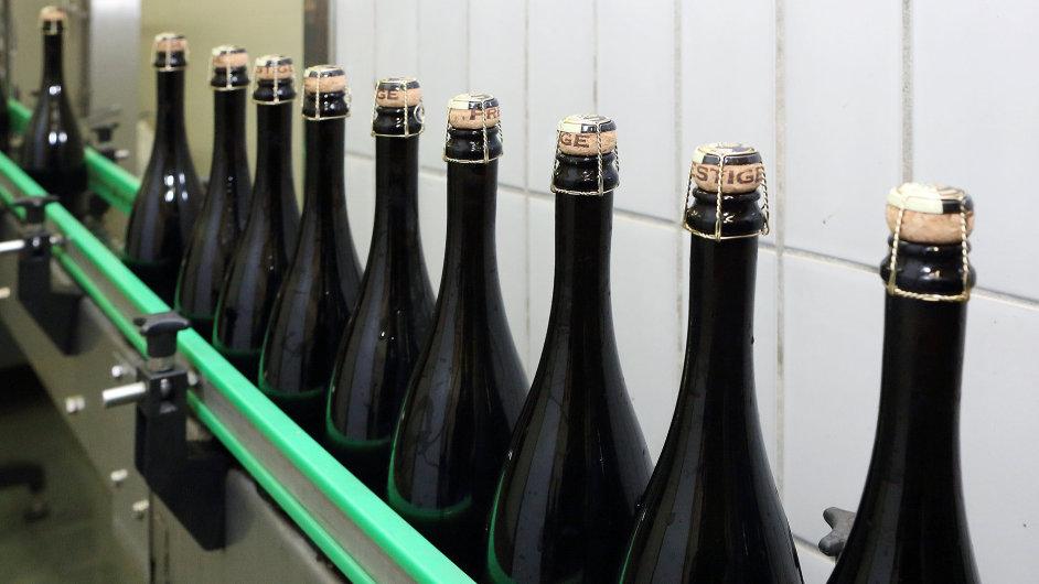 Výroba šumivého vína
