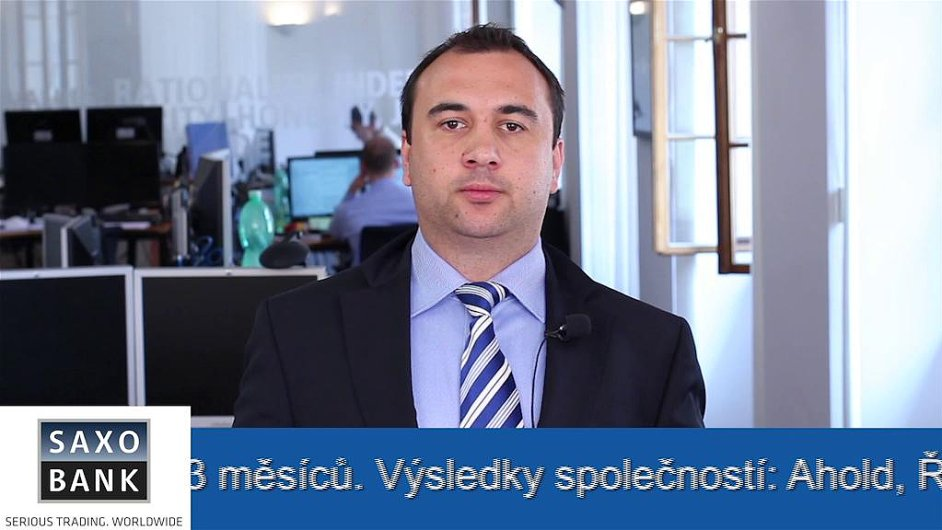 Analytik Saxo Bank Juraj Dolník.
