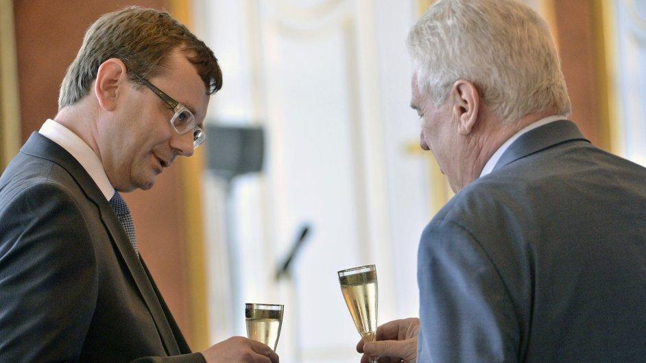Prezident republiky jmenoval Vojtěcha Šimíčka ústavním soudcem
