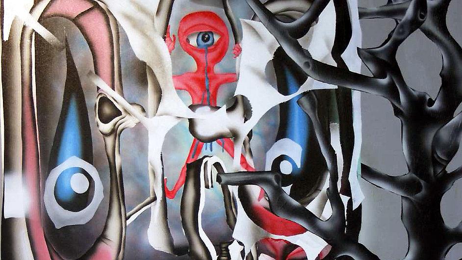 V Paříži je vystaven i Maskerův obraz Skull.