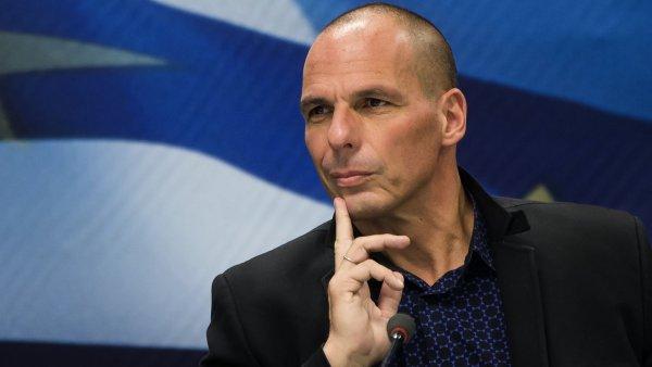 �eck� ministr financ� Janis Varufakis