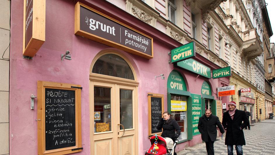 Mezi české franšízové značky patří i řetězec farmářských prodejen Náš Grunt (ilustrační foto).