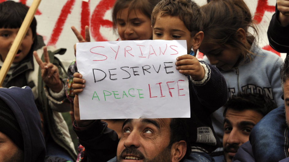 Syrští uprchlíci (ilustrační foto).