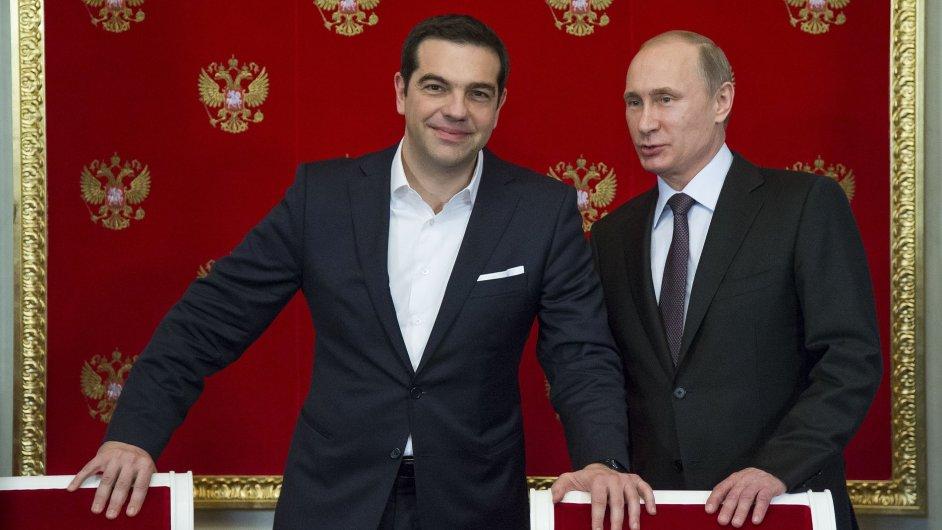 Řecko se začátkem týdne údajně chystá podepsat s Ruskem smlouvu v hodnotě několika miliard eur.