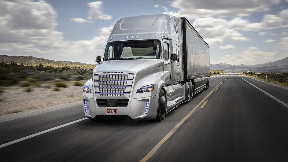 Autonomní tahač Freightliner Inspiration